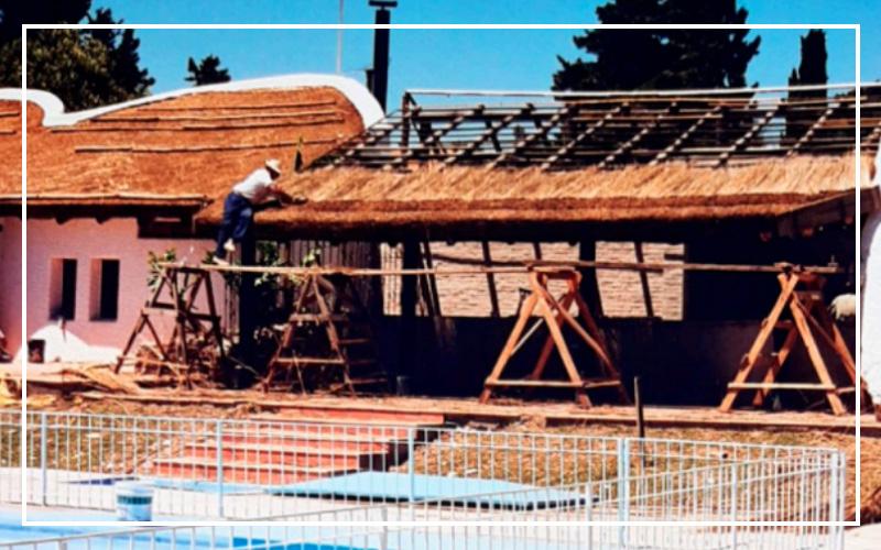 Construcción del quincho - Paysandú Golf Club